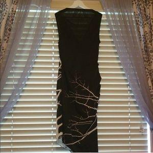 RACHEL Rachel Roy Dresses - Rachel Roy Black Asymmetrical Dress
